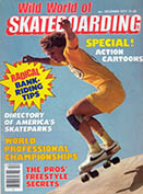 Wild World of Skateboarding December 1977